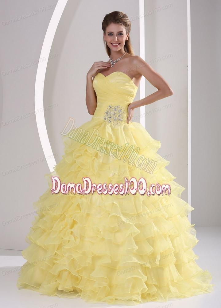 Yellow Military Ball Dresses 97
