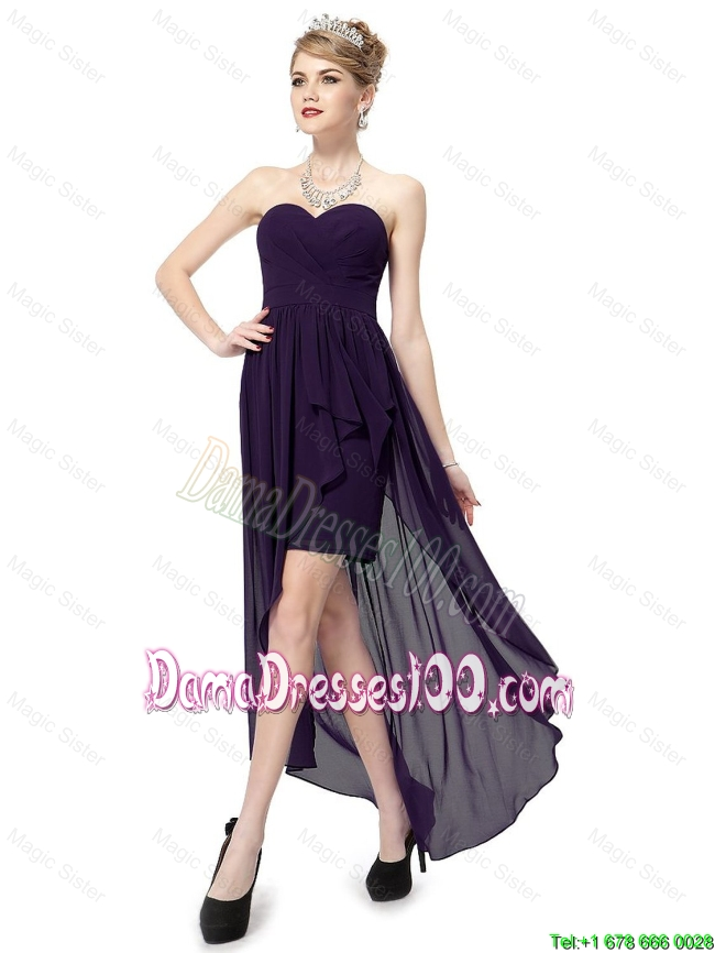 Prom Dresses High Low Cheap Boutique Prom Dresses