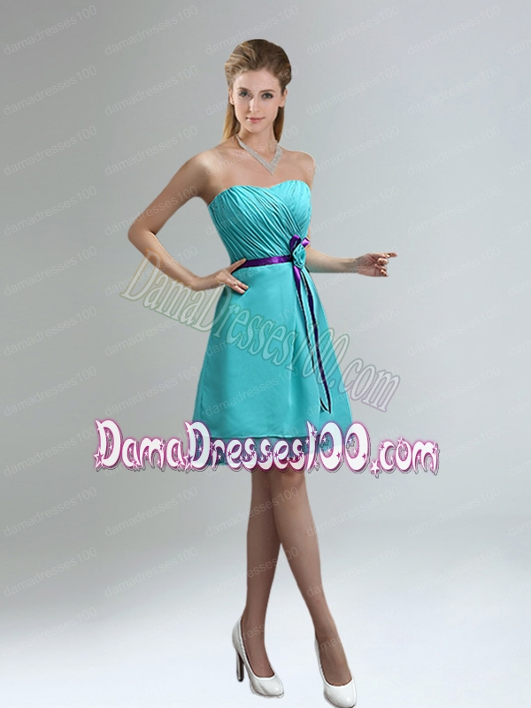 The Most Popular Knee Length Dama Dresses for 2015