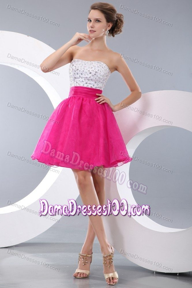 Short Dama Dresses