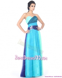 2015 Multi Color Sweetheart Dama Dresses with Ruffles and Beading