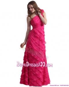 2a019e49747 Hot Pink Dama Dresses For Hawaiian Luau Quinceanera Theme