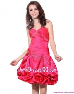 Sweetheart Pretty Plus Size Dama Dresses with Pick Ups and Beading