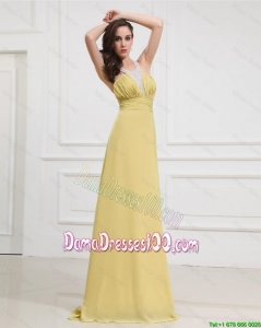New Style Sequins and Beading Long Dama Dresses for Graduation