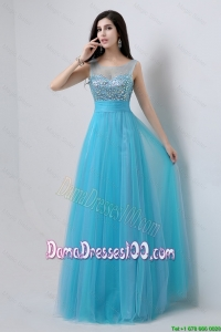 Best Selling Sweetheart Tulle Dama Dresses with Beading