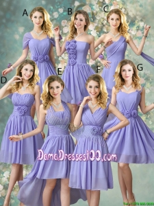 Fashionable Hand Made Flowers Wholesales Dama Dresses with A Line