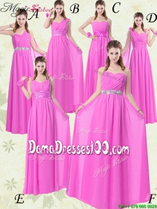 Beautiful Empire Ruching Group Buying Dama Dresses for 2016 Spring