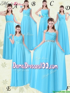 New Style Floor-length Empire Group Buying Dama Dresses