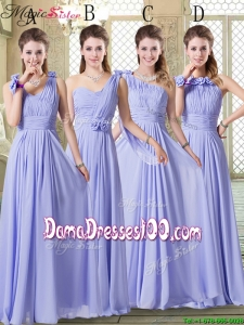 Group Buying Empire Floor Length Dama Dresses in Lavender