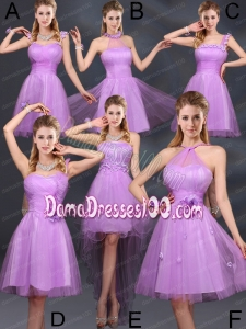 The Super Hot Lilac A Line Dama Dresses