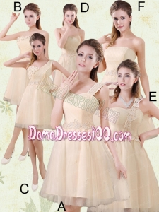 2015 The Brand New Style Mini Length Dama Dress