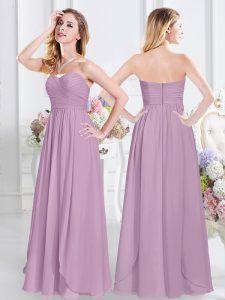 cde1cd0b172  172.07  22.09 -  50.18  Modest Empire Dama Dress Lavender Sweetheart  Chiffon Sleeveless Floor Length Zipper