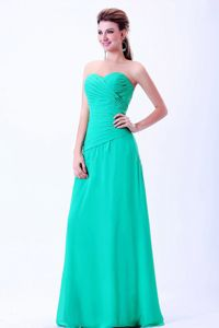 Ruching Sweetheart Floor-length Dama Quinceanera Dresses